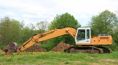 Excavations, fondations, former le terrain autour de votre construction